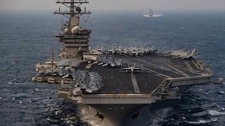 Mỹ đưa tàu sân bay đến sát Iran giữa lúc căng thẳng