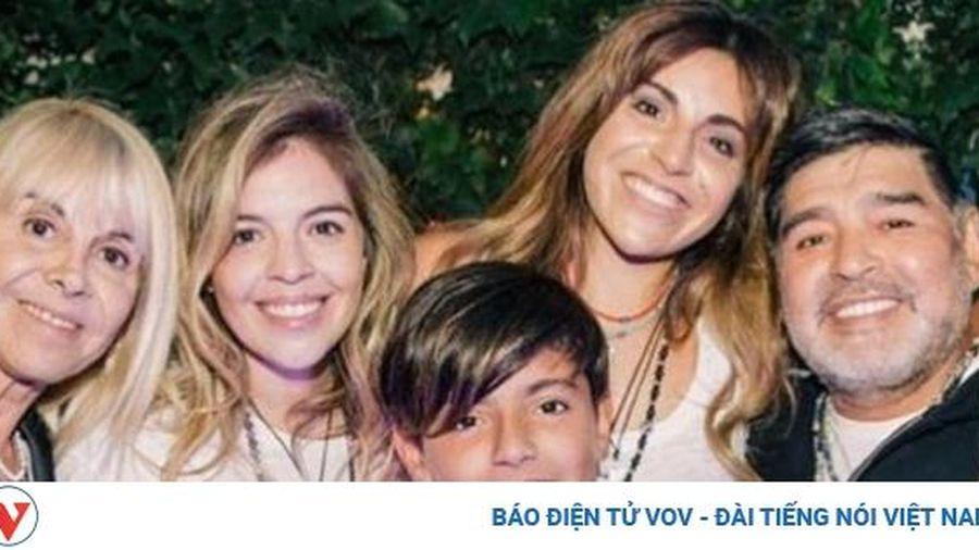 Huyền thoại Maradona qua đời để lại khối tài sản 'khổng lồ'