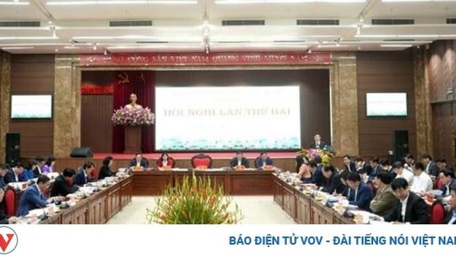 Bế mạc hội nghị Ban chấp hành Đảng bộ thành phố Hà Nội