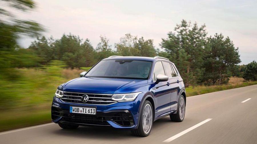 Volkswagen Tiguan R lộ diện công suất 315 mã lực