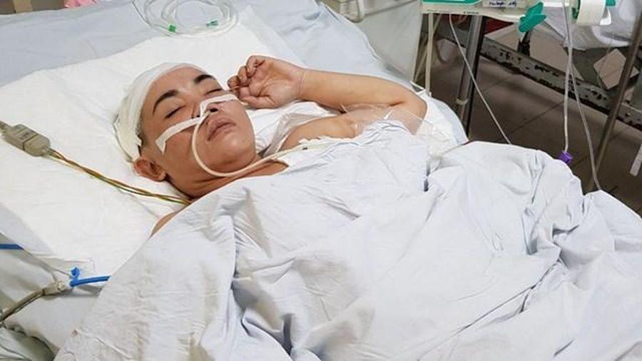 Quảng Nam: Người phụ nữ bị bắn trúng ngực đang phục hồi sức khỏe
