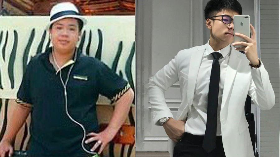 Anh chàng giảm 27 kg khi ở nhà tránh dịch