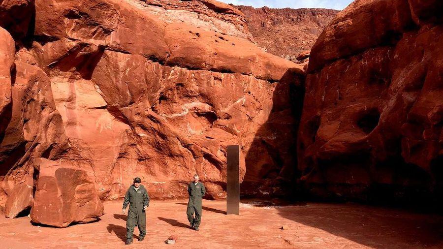 Khối kim loại ở Utah biến mất bí ẩn