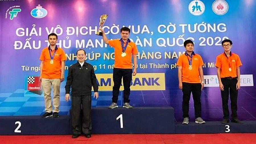 Bế mạc Giải vô địch cờ vua, cờ tướng đấu thủ mạnh toàn quốc 2020