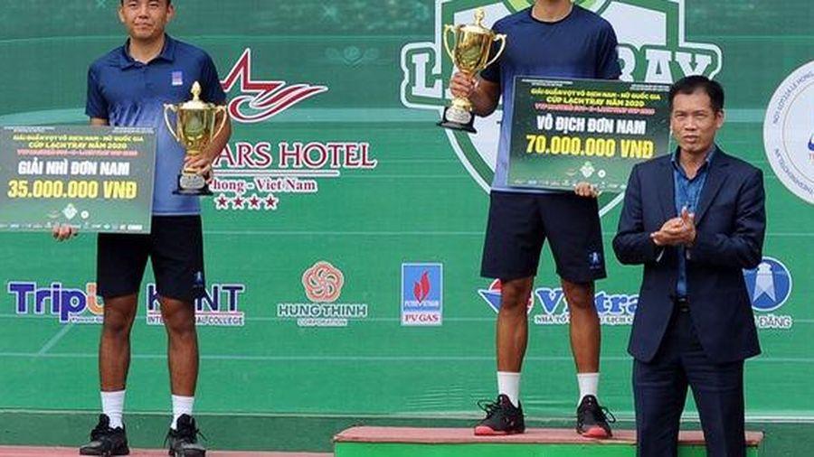 Lý Hoàng Nam thua 'sốc' ở chung kết VTF Masters 500 lần 2-2020