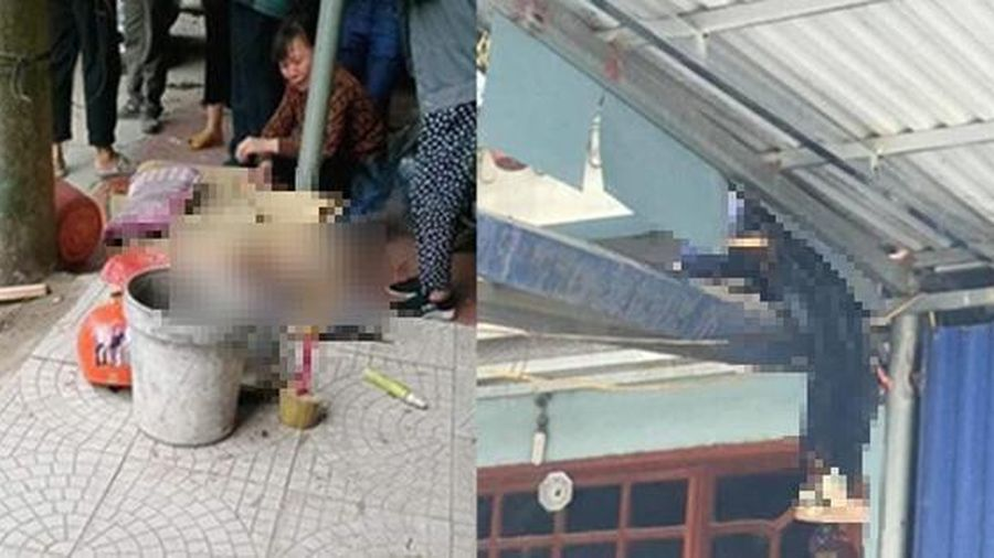 Mượn xe ôtô đi ăn tiệc tông 2 bố con tử vong, người con văng lên mái nhà bên đường