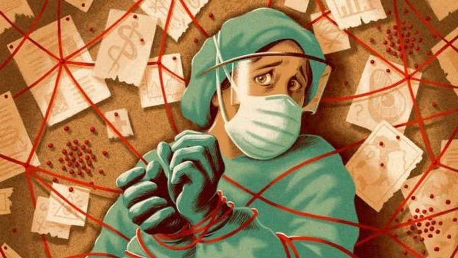 Thuyết âm mưu đang làm lung lay danh vị 'anh hùng' của các y bác sĩ chống dịch Covid-19 ở Italy
