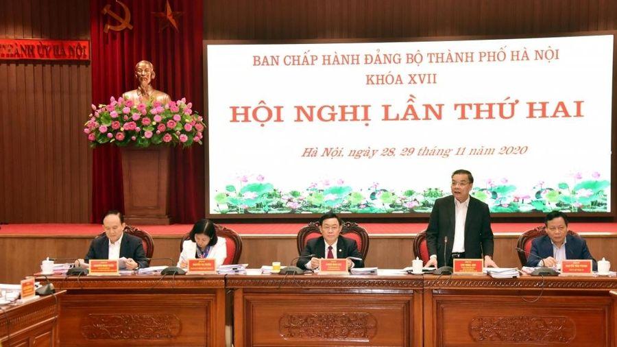 Năm 2021, Hà Nội xác định là năm 'Kỷ cương, trách nhiệm, hành động, đổi mới và phát triển'