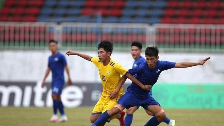 U21 SLNA sẩy chân trước đội bóng hạng Nhì