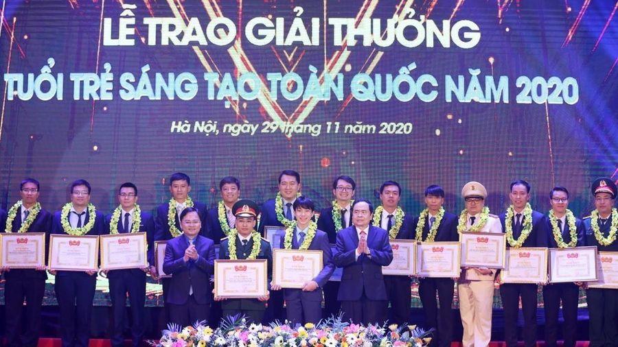 Giải thưởng Tuổi trẻ sáng tạo toàn quốc 2020 vinh danh 37 công trình