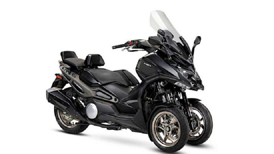Kymco 'bước chân' vào thị phần xe ga 3 bánh, cạnh tranh Yamaha Niken