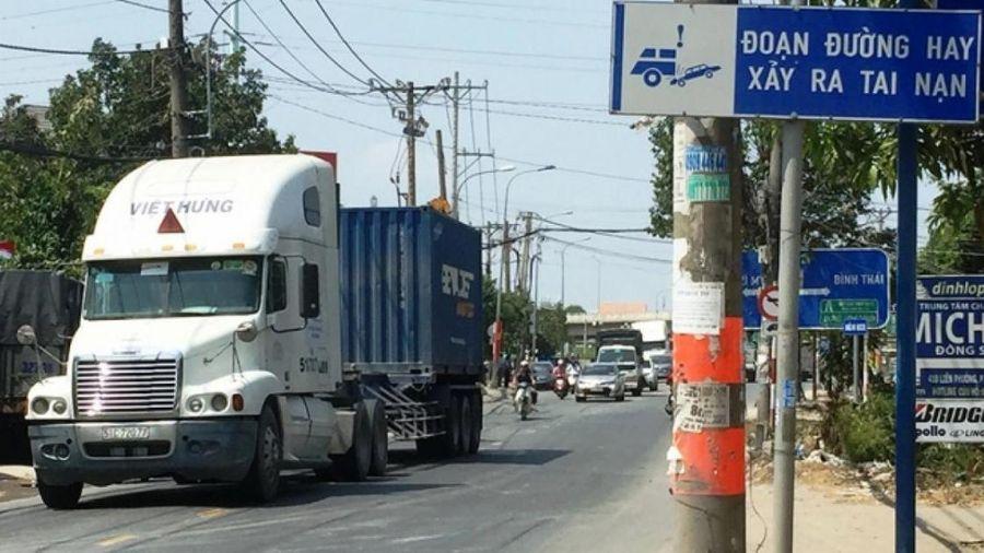 TP.HCM có bỏ cấm xe tải buổi trưa ở đường Nguyễn Duy Trinh?