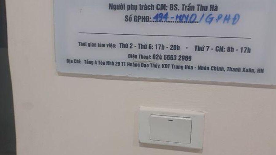 Nhân Chính (Thanh Xuân – Hà Nội): Nhiều bất thường trong hoạt động của phòng khám nha khoa Parkway