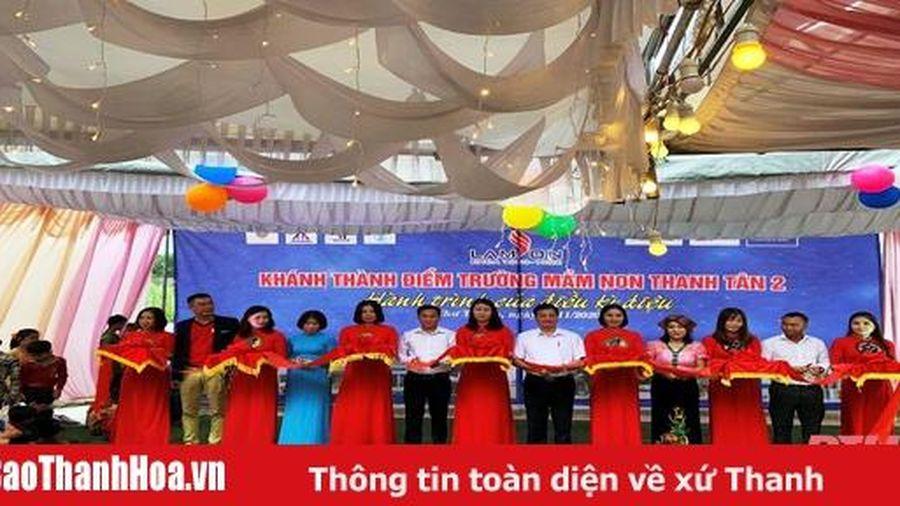 Khánh thành công trình điểm trường mầm non Tân Thanh 2 (Như Thanh)