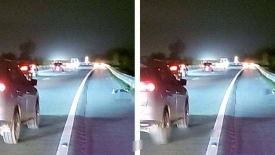 Nữ tài xế lái ô tô tông người đàn ông đi bộ trên cao tốc tử vong