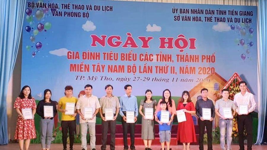 Ngày hội Gia đình: Đoàn Bạc Liêu, Kiên Giang và Đồng Tháp giành giải Nhất