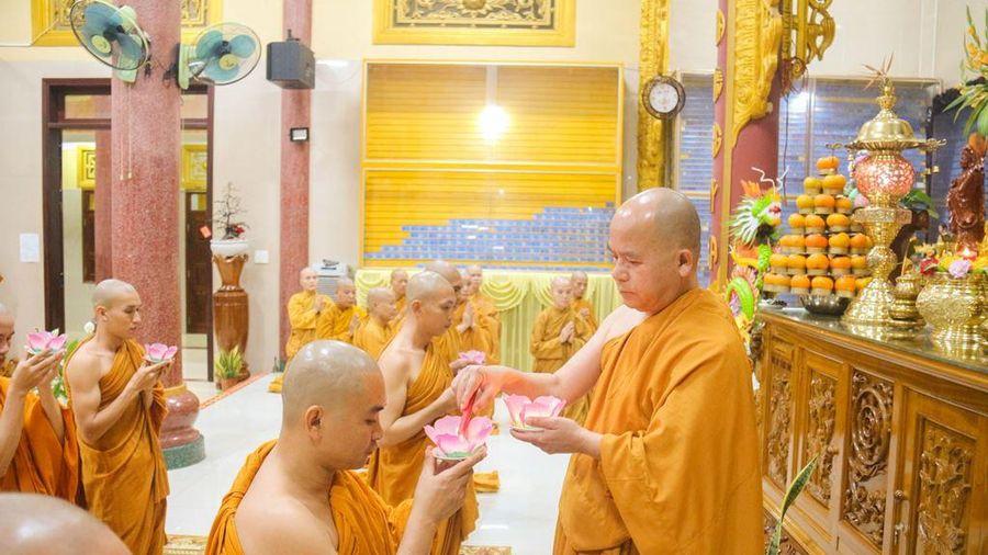 Đắk Lắk : Lễ thắp nến tri ân tại tịnh xá Ngọc Bửu