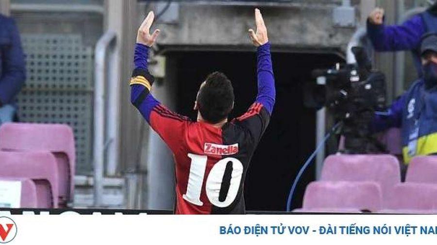 Messi ghi bàn tưởng nhớ Maradona, Barca đại thắng Osasuna