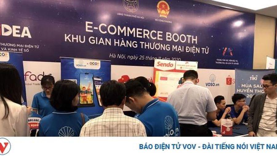 'Gian hàng Việt trực tuyến' tăng tiêu dùng trên kênh phân phối hiện đại