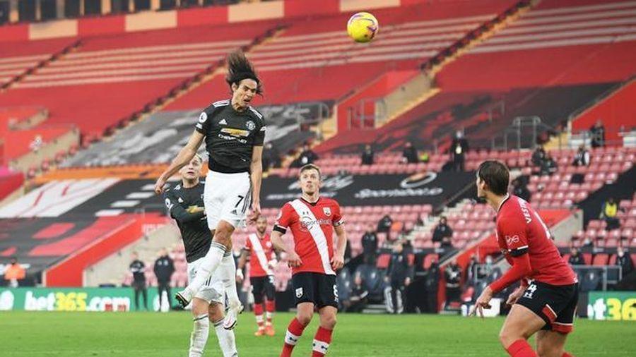 Cavani chói sáng, Man Utd ngược dòng ngoạn mục hạ Southampton