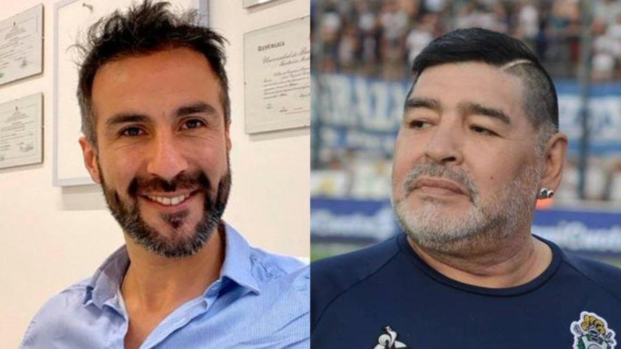 Công tố viên khám xét nhà bác sĩ riêng của Diego Maradona