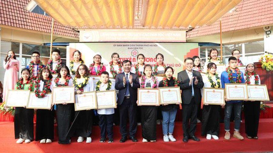 Hà Nội tuyên dương 170 học sinh, sinh viên dân tộc thiểu số xuất sắc, tiêu biểu