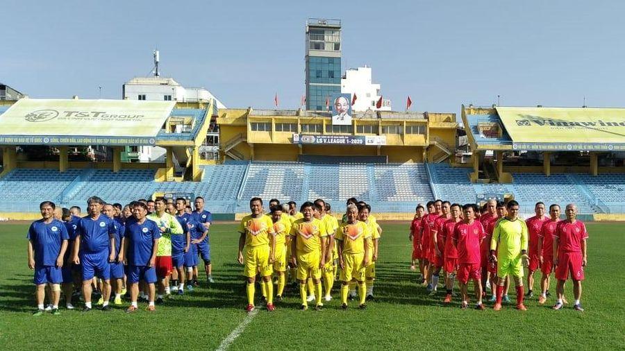 Giải đấu quy tụ 3 đội bóng lừng lẫy một thời của bóng đá Việt Nam