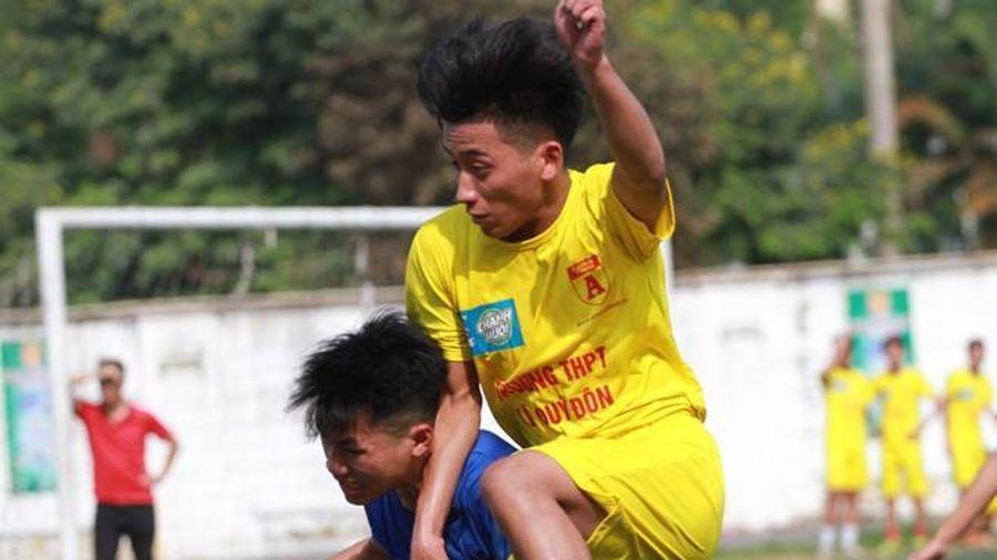 Những đội bóng đầu tiên đăng ký dự giải bóng đá học sinh THPT Hà Nội - Báo ANTĐ năm 2020
