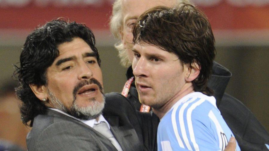 Messi làm điều đặc biệt để tri ân Maradona