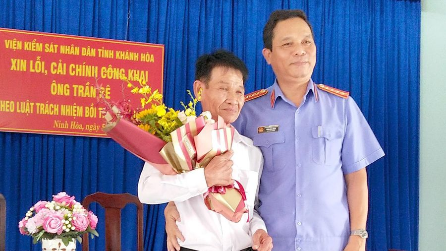 VKSND Khánh Hòa bồi thường cho người bị giam oan gần 40 năm trước