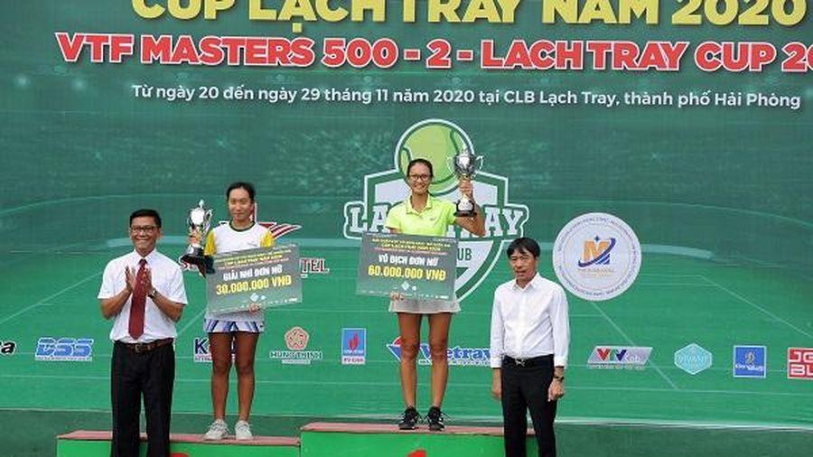 Tay vợt số 1 Việt Nam thất bại ở chung kết giải VTF Masters 500