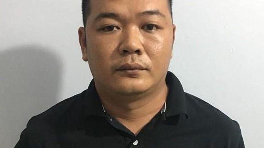 Đối tượng Huỳnh Minh Trung bị Công an quận 8 bắt ở Phú Quốc