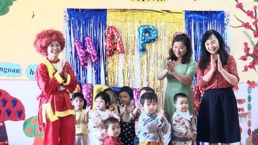 Thái Nguyên: Tập huấn xây dựng môi trường tiếng Việt cho trẻ DTTS
