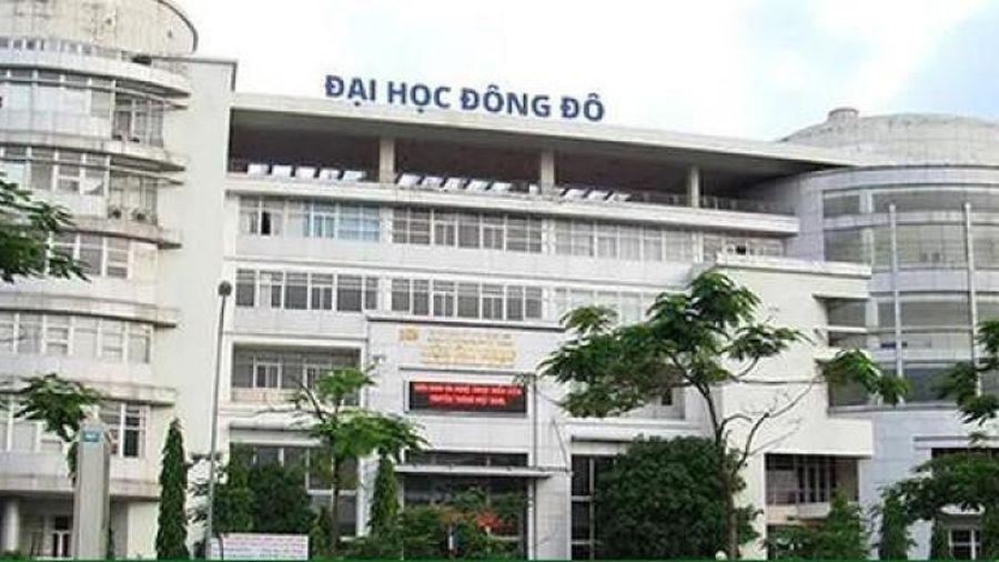 Bộ GD&ĐT thông tin 4 vấn đề liên quan đến sai phạm tại trường ĐH Đông Đô