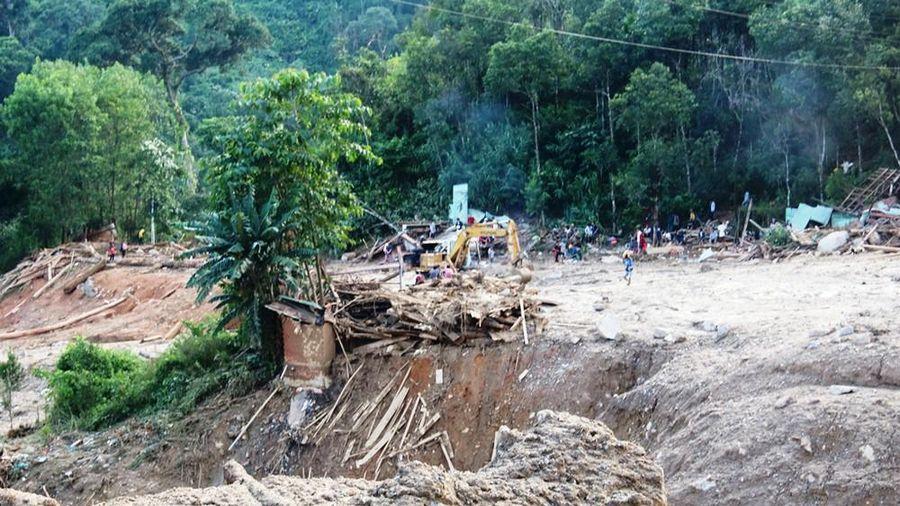 Quảng Nam mưa lớn, nguy cơ lũ quét, sạt lở đất