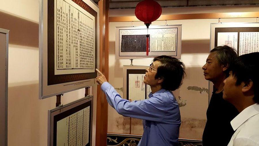 Hé lộ nhiều sử liệu quí về Nghệ An trong Mộc bản triều Nguyễn