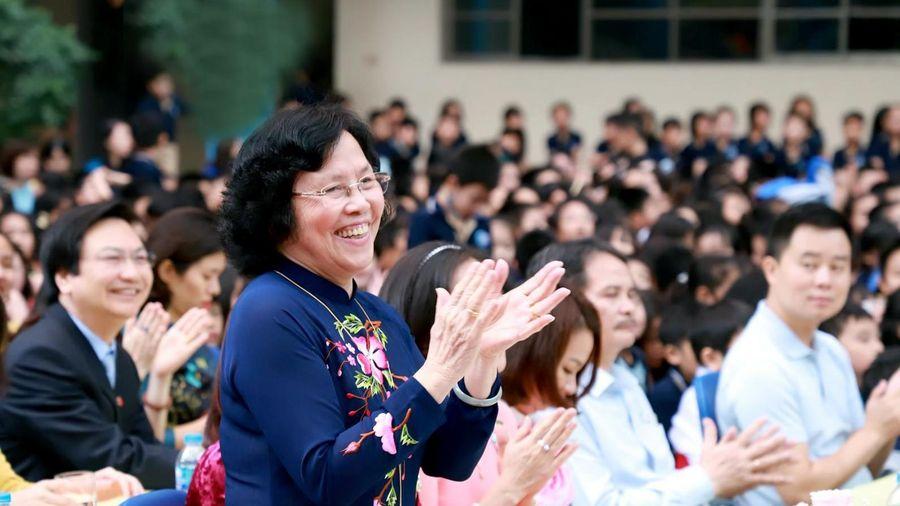 Thấy thầy cô hạnh phúc, sẽ có nhiều học trò theo nghề giáo