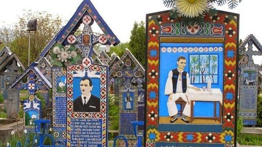 Nghĩa trang 'vui vẻ' ở Romania