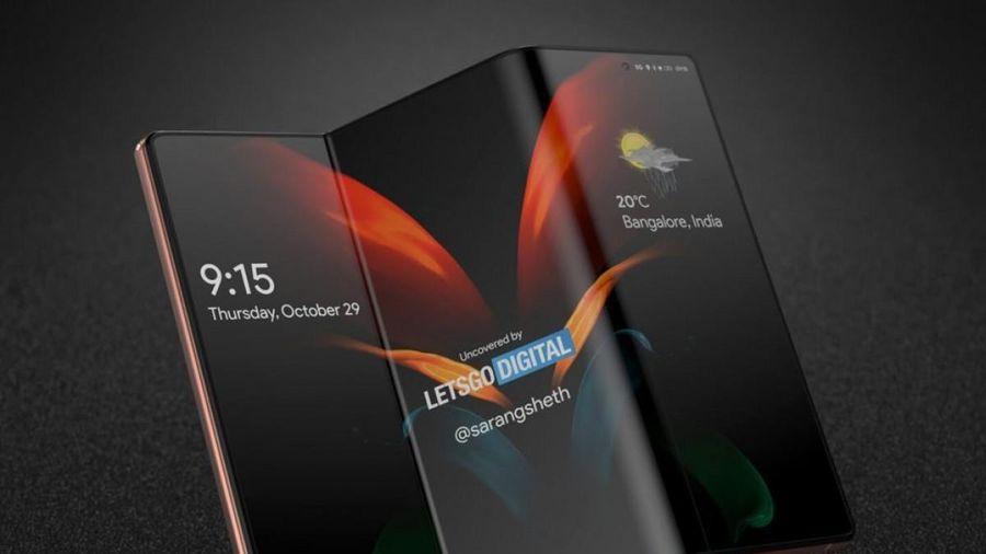 Galaxy Fold3: 3 màn hình gập kèm bàn phím trượt, camera ẩn dưới màn hình?