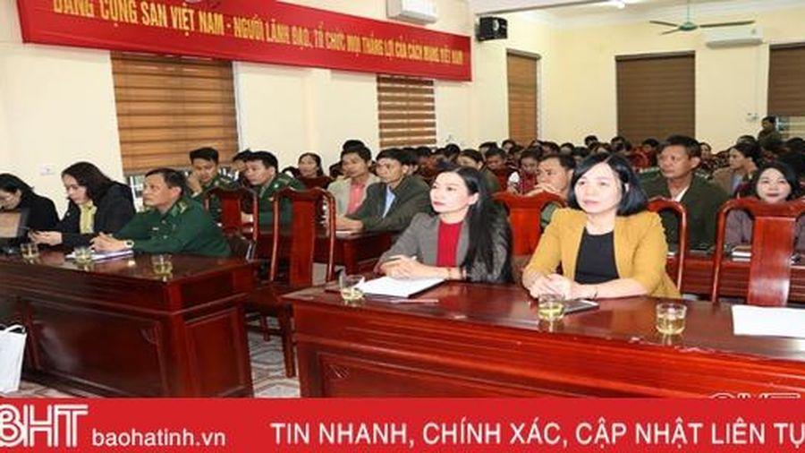 Trang bị kiến thức hỗ trợ nạn nhân bị mua bán cho cán bộ cơ sở ở Vũ Quang