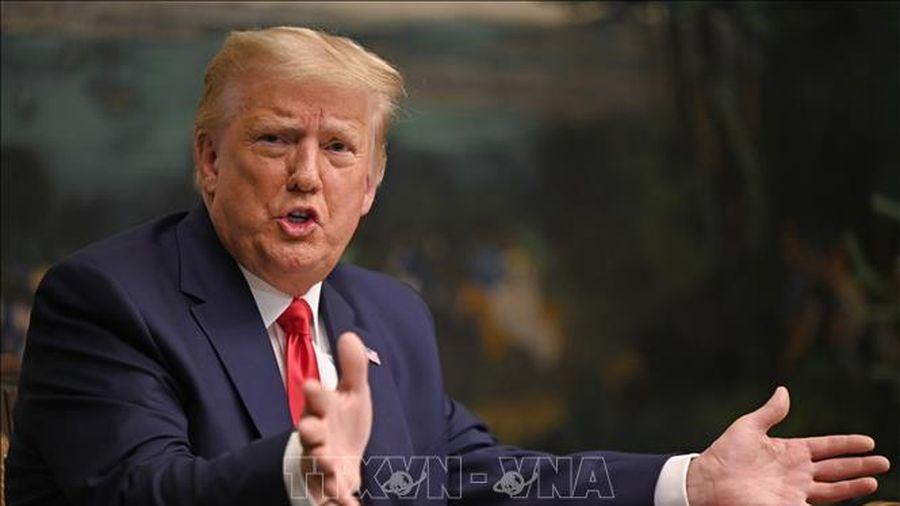 Tổng thống Donald Trump khẳng định không thay đổi quan điểm về cuộc bầu cử