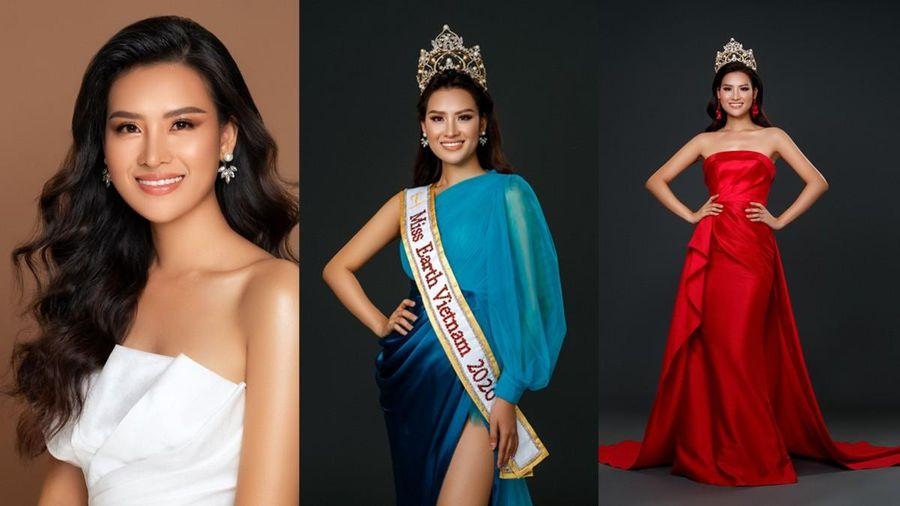 Cận cảnh nhan sắc 'không góc chết' của Hoa hậu Trái Đất 2020