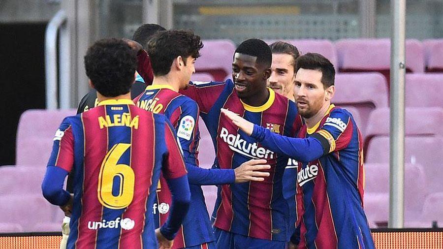 Messi & Griezmann tỏa sáng, Barca thắng lớn trong ngày sinh nhật