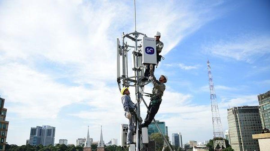 Tốc độ phát sóng 5G của MobiFone tối đa đạt 1,5Gbps