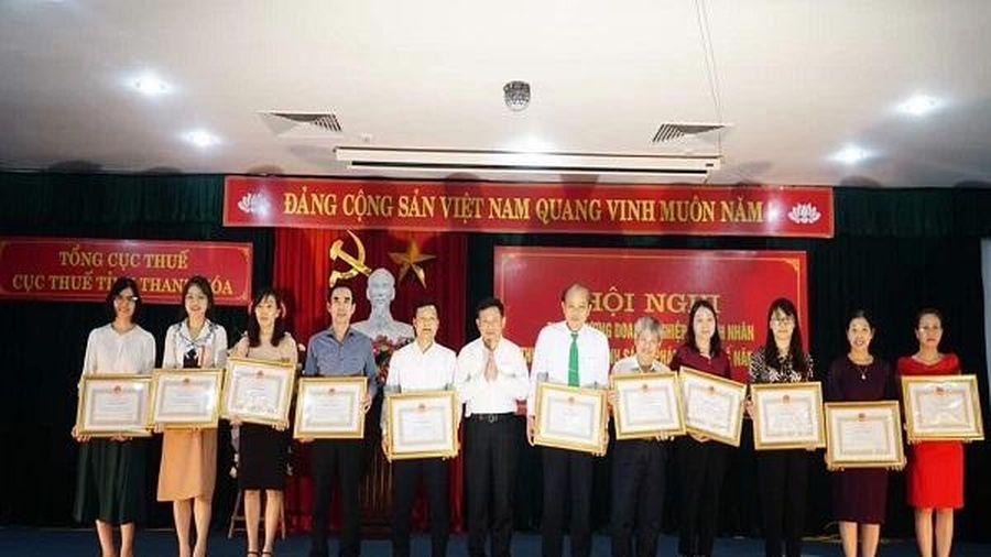 Thanh Hóa: Tuyên dương doanh nghiệp, doanh nhân thực hiện tốt chính sách pháp luật thuế