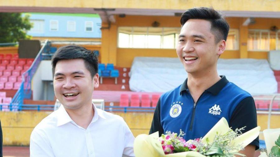Học đội bóng của Trung Quốc làm bóng đá, con trai bầu Hiển có nâng tầm Hà Nội FC?