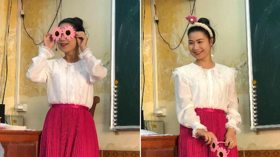 Loạt khoảnh khắc đáng yêu của cô giáo trường người ta khiến dân mạng không thể nhịn cười