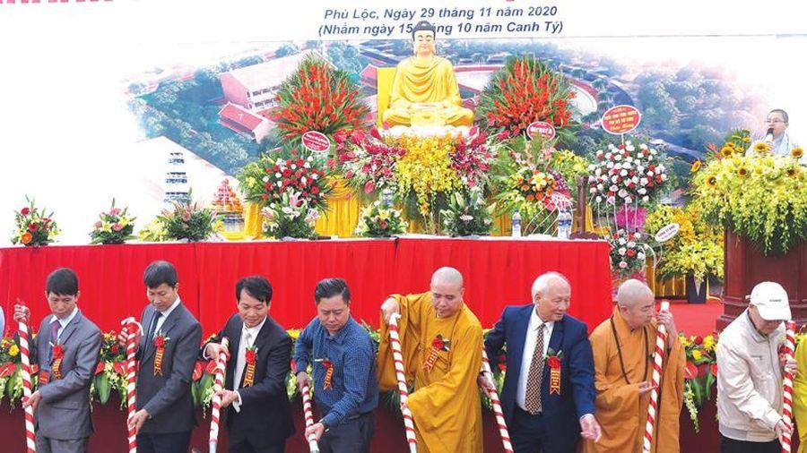 Bắc Ninh: Khánh thành nhà tổ, động thổ khởi công tam bảo chùa Thiên Khánh