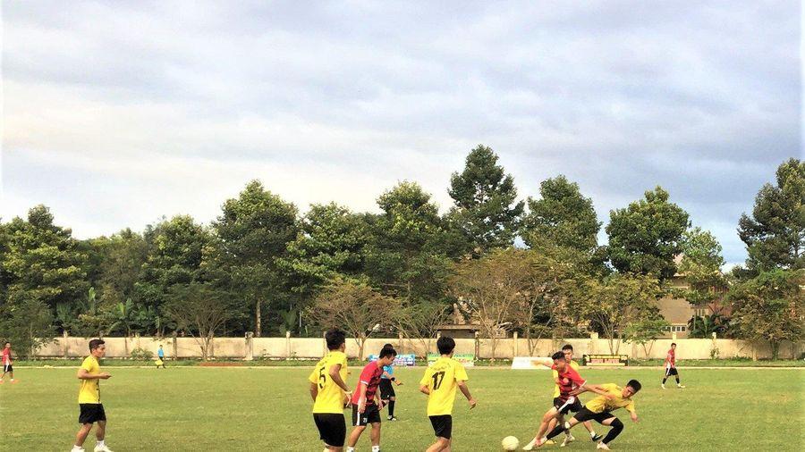 Chủ nhà vô địch Giải bóng đá xã Quảng Thành (huyện Châu Đức) mở rộng