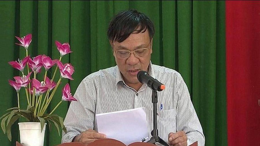 Quảng Ngãi: Kỷ luật nguyên chủ tịch huyện vi phạm Luật Ngân sách nhà nước.